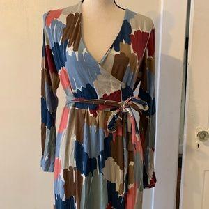 Boden wrap dress size 16R